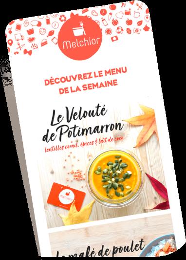 newsletter menu melchior
