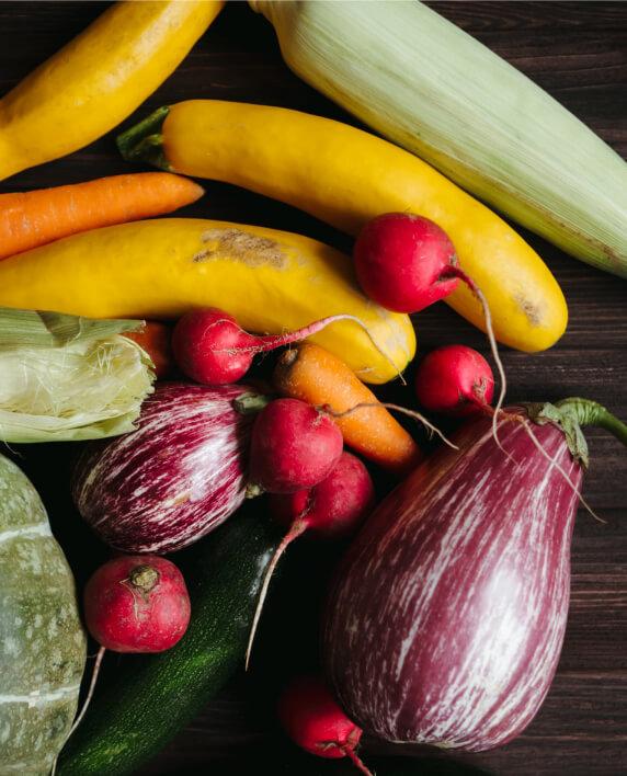 produits locaux frais et de saison